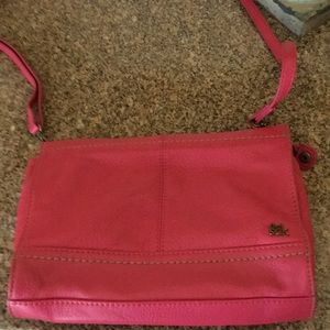 The Sak Shoulder Bag-vibrant hot pink